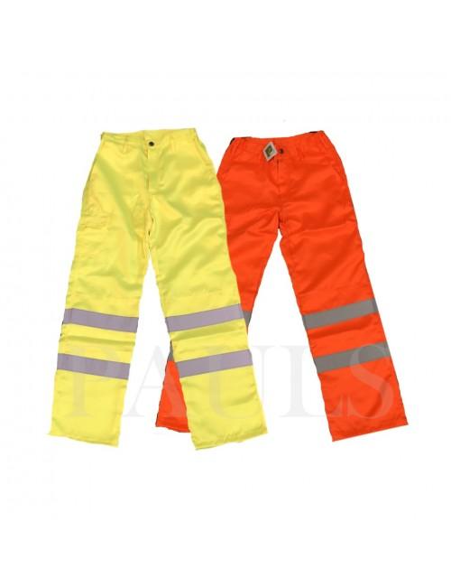 Hi Vis Cargo Trousers (2...