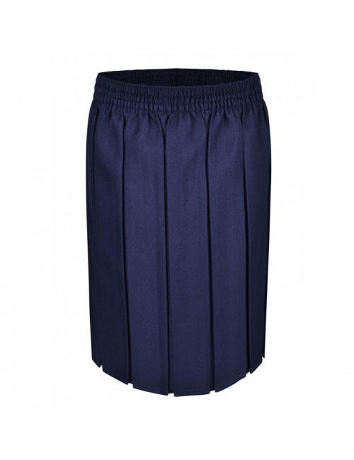 Box Pleat Skirts, Navy