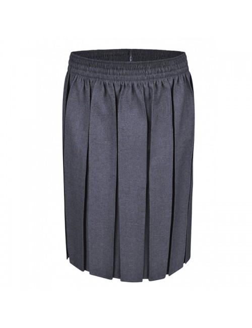 Grey Box Pleat Skirts