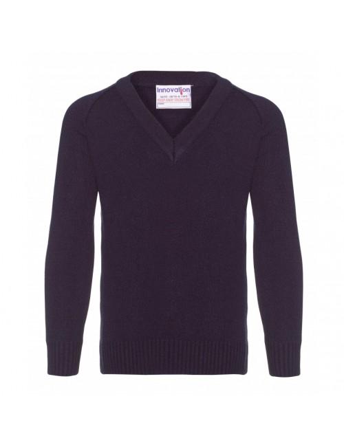 Knitted V Necks - 8 Colours