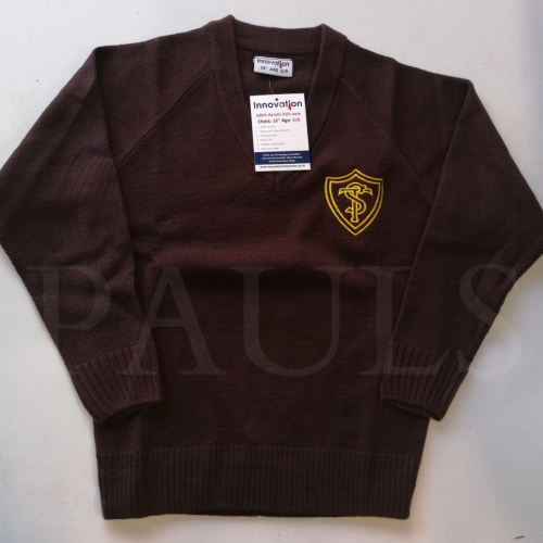 Temple Sutton Knitted V Neck