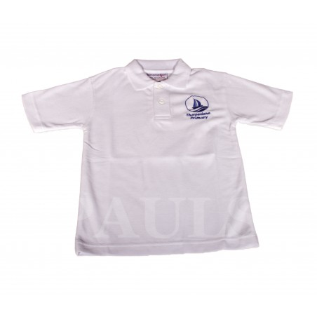 Thorpedene White Polo Shirt