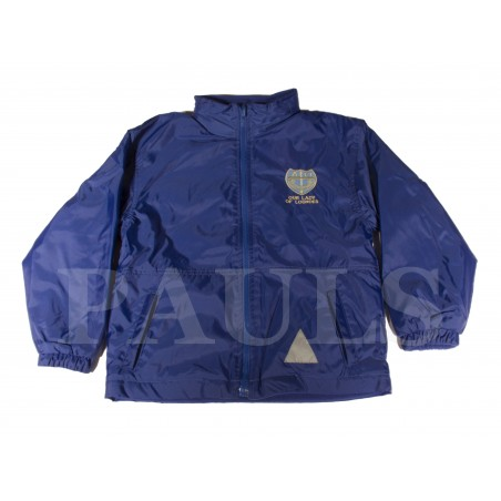 Our Lady of Lourdes Reversible Fleece Jacket