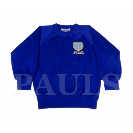 Our Lady of Lourdes Reception Sweat Shirt