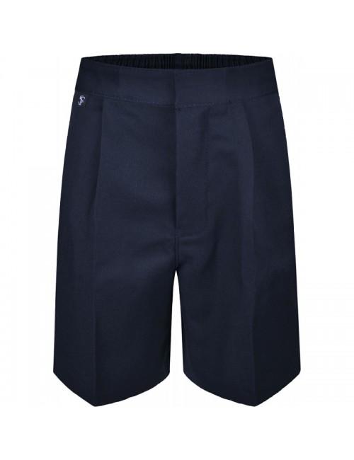 Boys Navy School Shorts