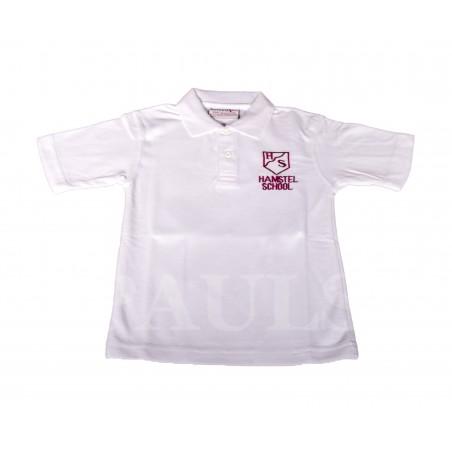 Hamstel Junior White Polo Shirt
