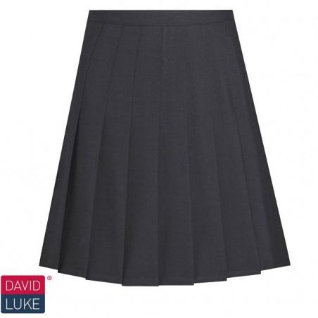 Girls Black 6th form skirt - Knife Pleat
