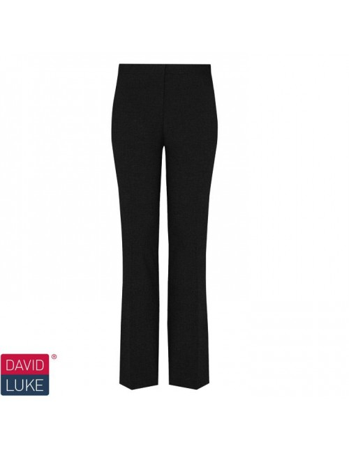 6th Form Girls Trousers, Black