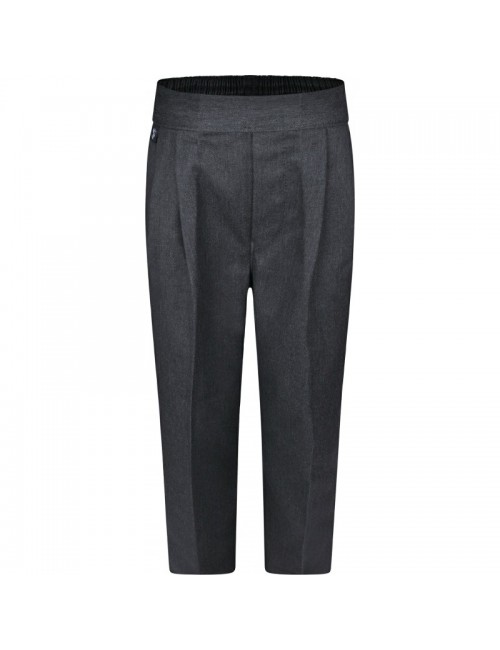 Boys Grey Trousers - Pull Ups