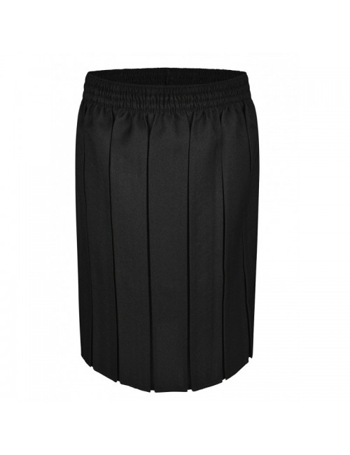 Box Pleat Skirts, Black