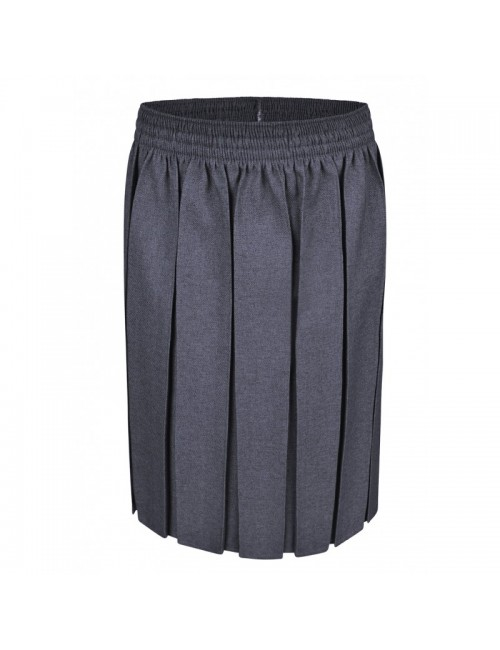 Box Pleat Skirts, Grey